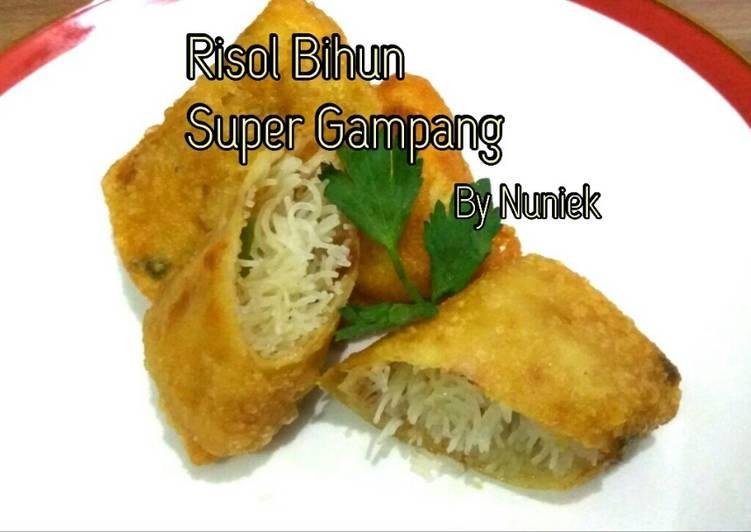 Risol Bihun Super Gampang (Tanpa Telur)