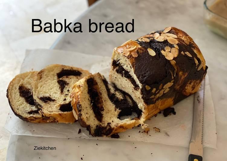 Brownie Babka Biga Method