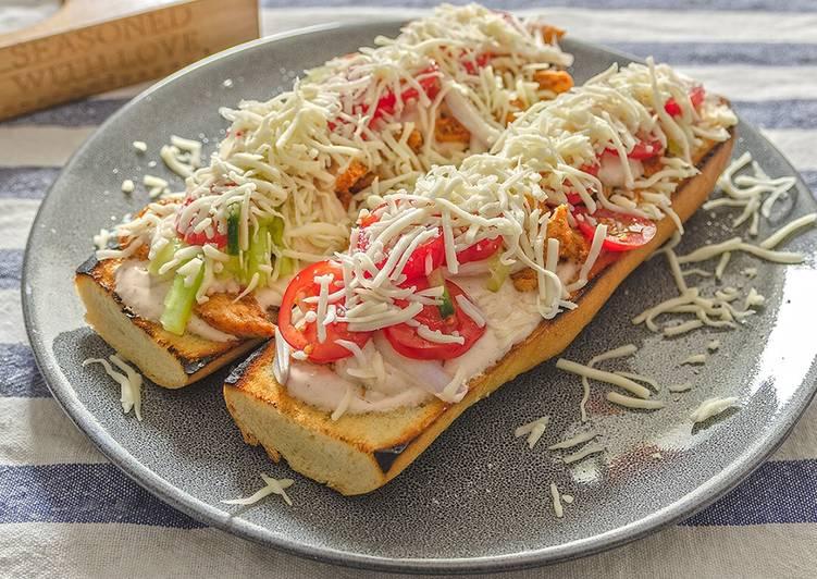 Steps to Prepare Perfect Homemade Kebab (Gyros) Sandwich