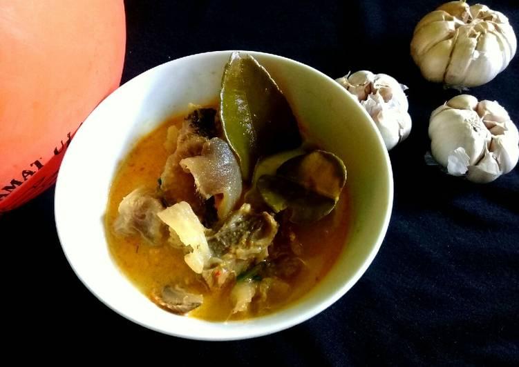 Gulai Tunjang / Kikil Sapi #225