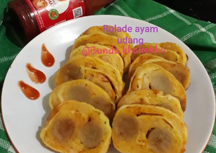 Rollade Ayam Udang