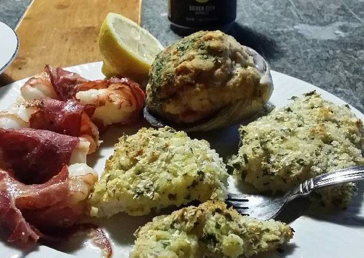 How to Prepare Homemade Brad's potato parmesan crusted cod