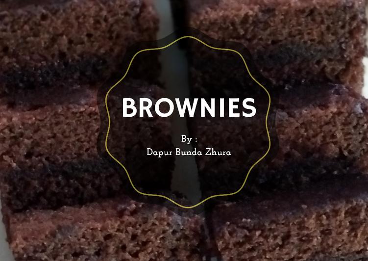 Bagaimana Membuat Brownies kukus ala amanda, Sempurna