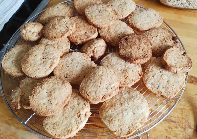 Biscuits sablés aux noix