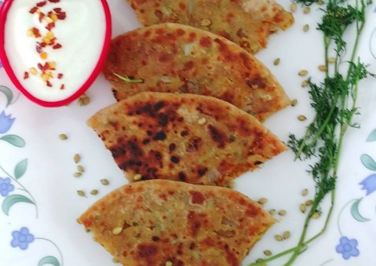 Made by You Oats Cabbage Stuffed Paratha