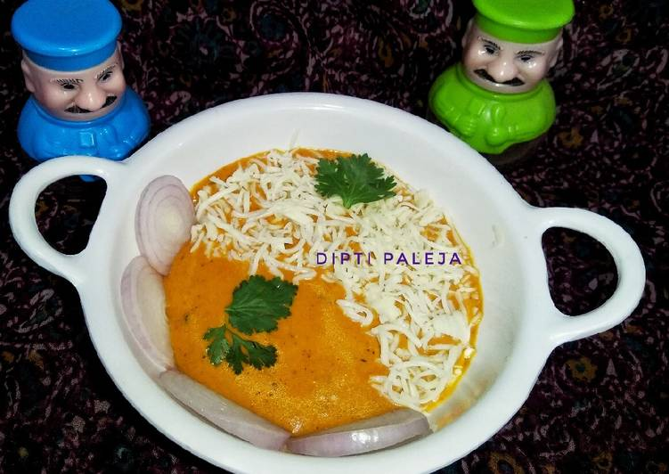 Recipe of Perfect Cheese Butter Masala