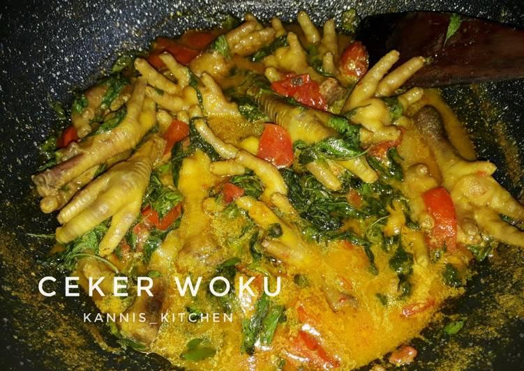 20. Ceker Woku