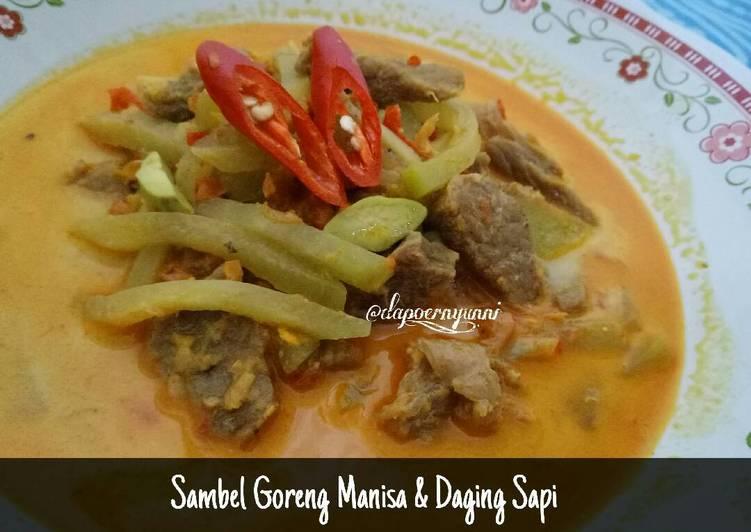 Sambal Goreng Manisa & Daging Sapi