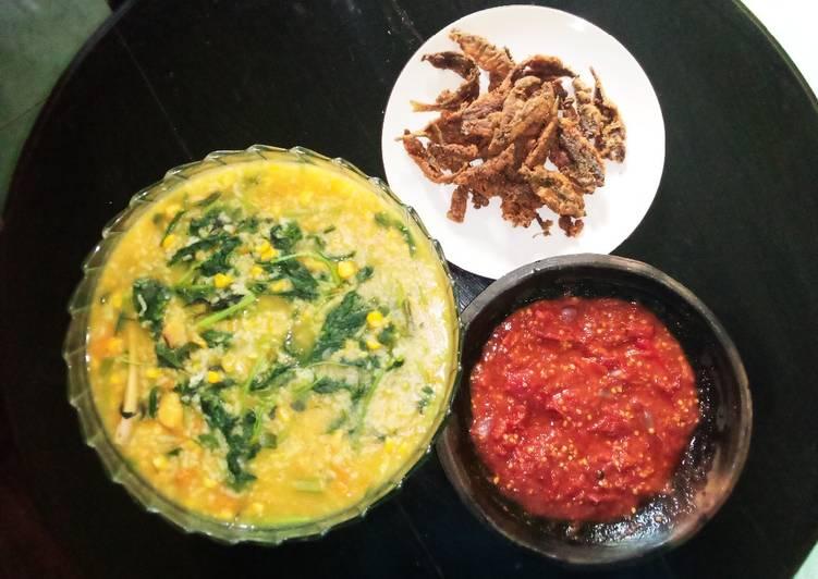 Resep Bubur Manado/ Tinutuan Sehat Terbaik