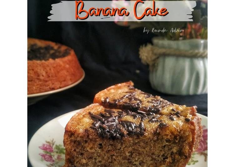 BANANA CAKE || NO MIXER || SIMPLE Bangeeet👌