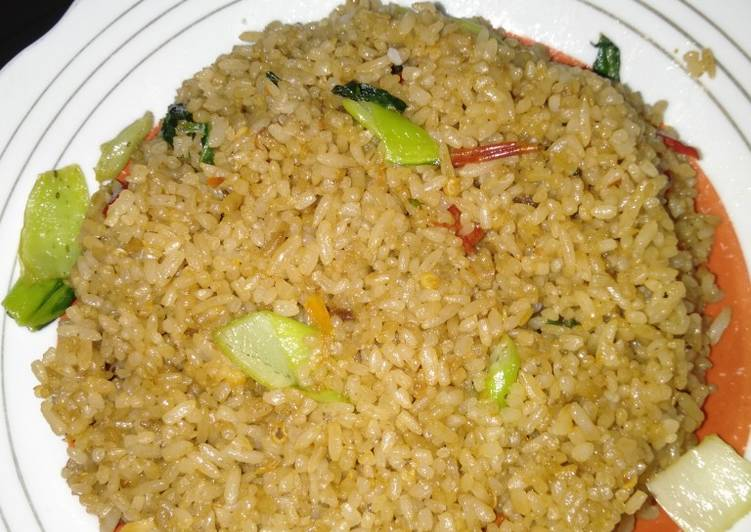Resep Nasi goreng terasi sederhana Paling Mudah