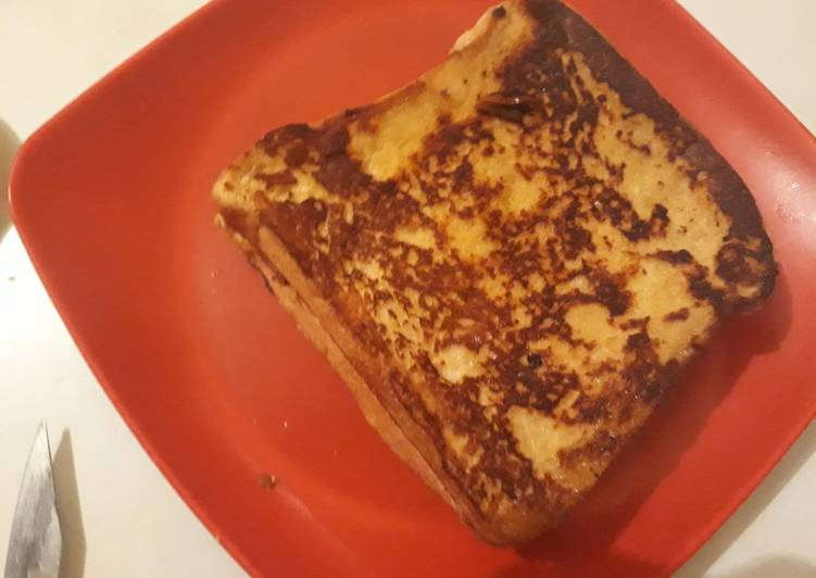 Recipe of Speedy Apple pie (French toast)
