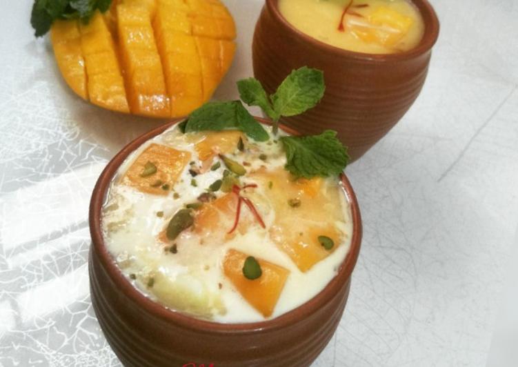5 Minute Steps to Prepare Favorite Shahi Mango Lassi