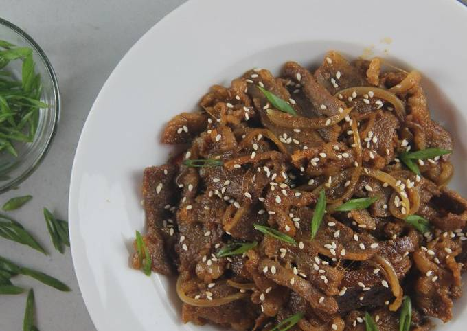Korean beef bulgogi - projectfootsteps.org