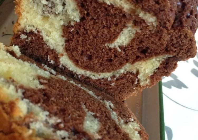 Cake marbré comme le Savane de Papy B