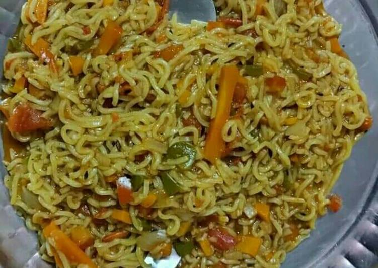 Step-by-Step Guide to Prepare Ultimate Veggies maggi