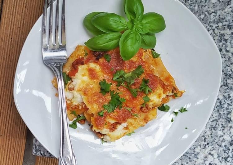 Lasagne original (tanpa Wine)