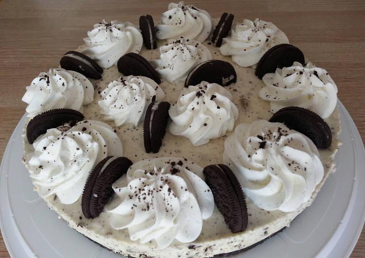 Comment faire Préparer Savoureux Cheesecake Oreo®