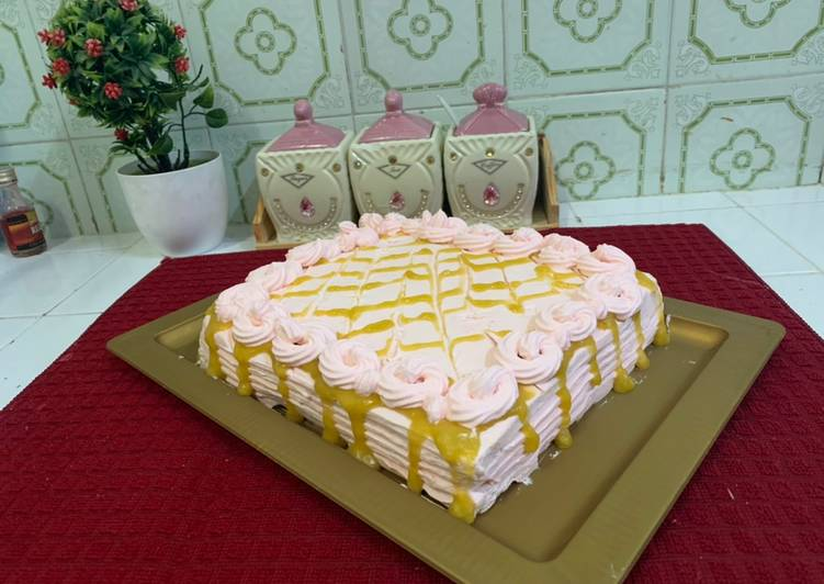 Awe Inspiring 15 Minutes Birthday Cake No Bake Recipe By Madiha Ali Cookpad Funny Birthday Cards Online Alyptdamsfinfo