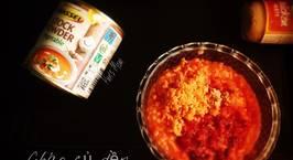 Hình ảnh món Cháo củ dền Pate gà Trứng trộn các hồi
