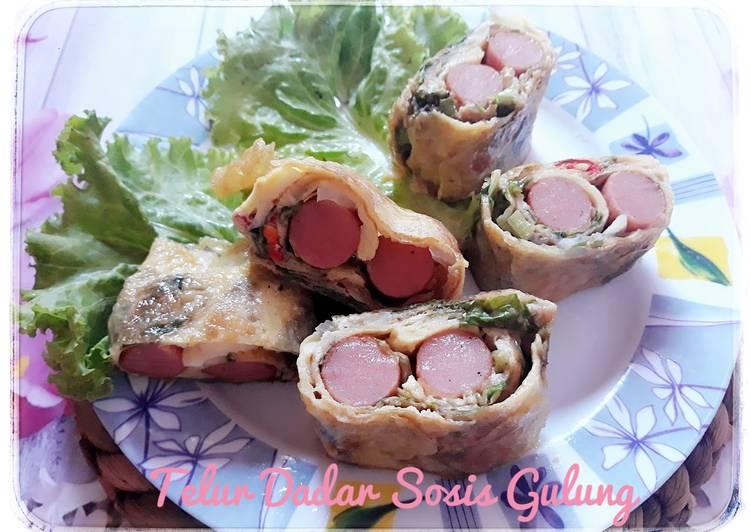 telur-dadar-sosis-gulung