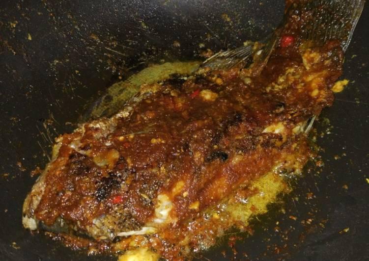 Ikan Gurame Bakar Teflon