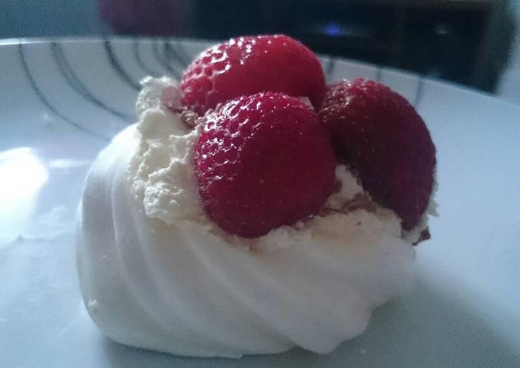 Simple Way to Prepare Favorite Strawberry Meringue