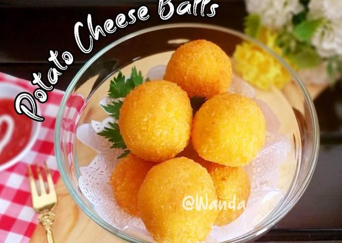 Potato Cheese Balls a.k.a Pom Pom Potato (kentang Pom Pom)