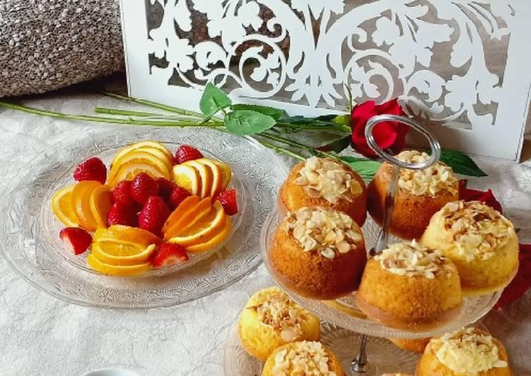 Cakes orange