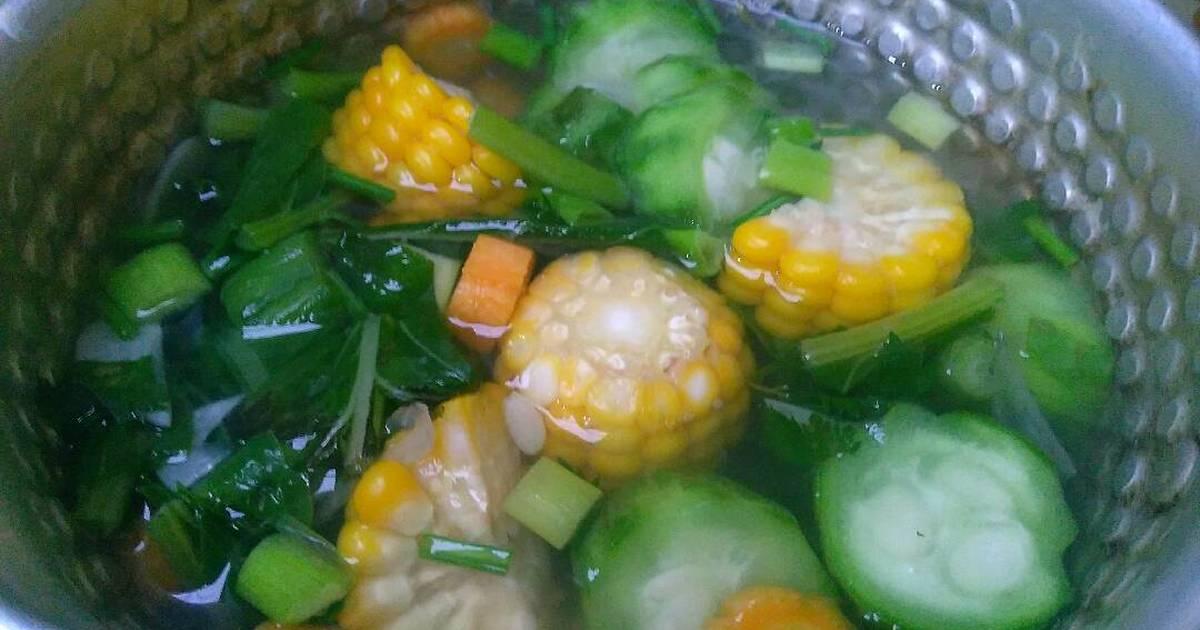 Resep 7 Sayur Bening Campur Bikinramadhanberkesan Oleh Fatihatul Muali Cookpad