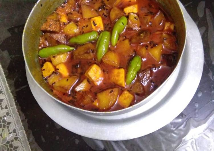 Paneer Potatoes curry Deciding on Healthy and balanced Fast Food