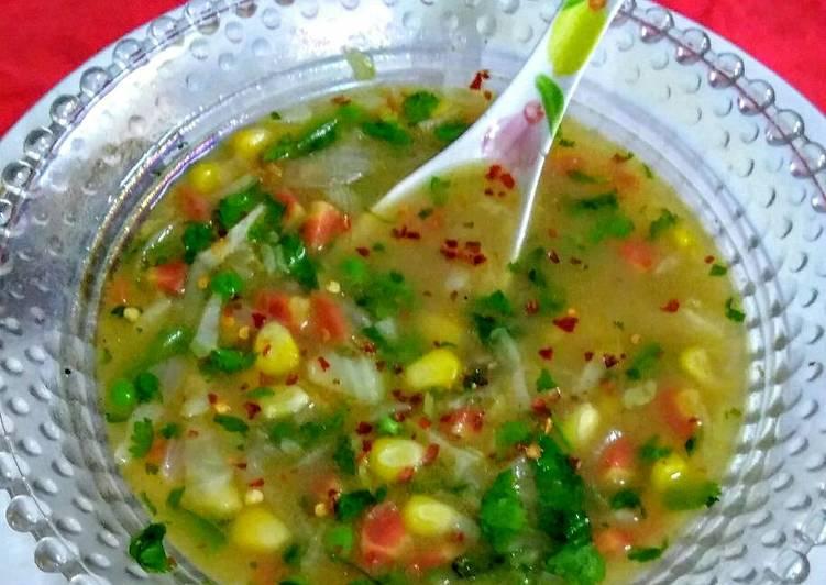 Recipe: Tasty Mix veg soup
