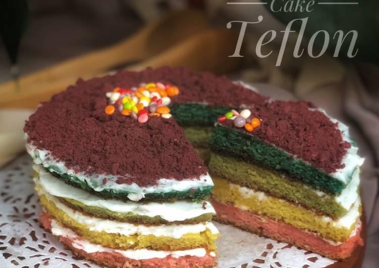 Rainbow Cake Teflon
