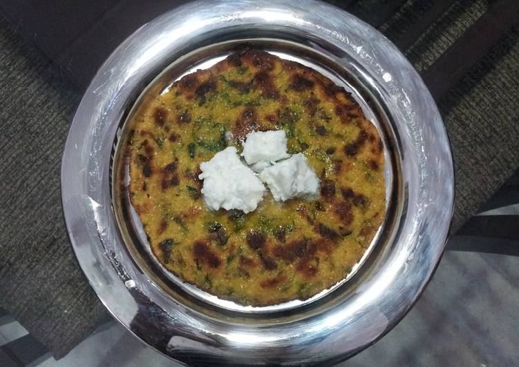 The Meals You Select To Feed On Will Effect Your Health Methi Makki Paratha