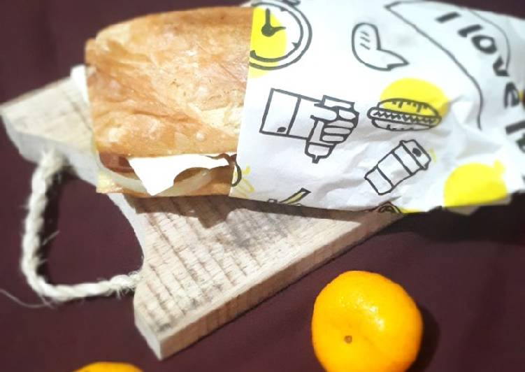Resep Baguette Sandwich Bikin Laper