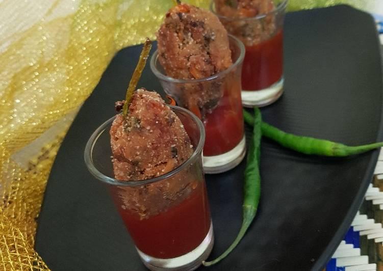 Recipe of Ultimate Asparagus Maggi lollipop