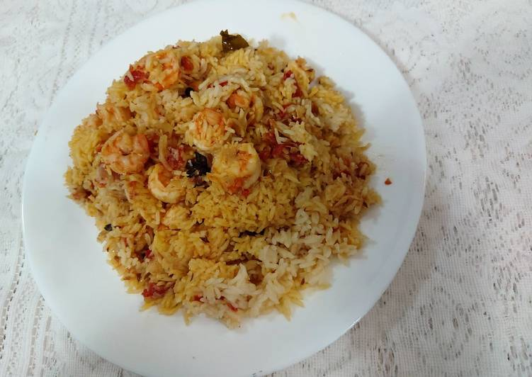 Recipe of Award-winning Prawns pulao/ easy to cook and tasty