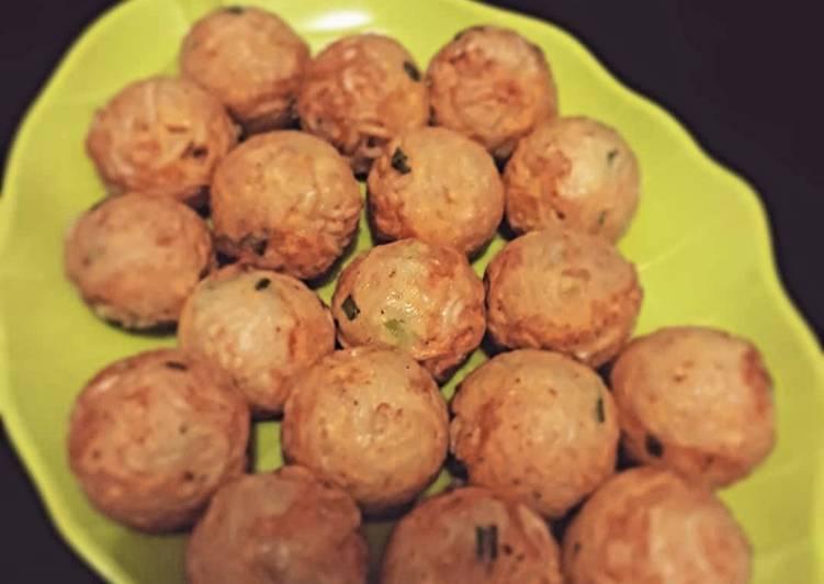Resep Takoyaki Mie Oleh Riaty Arfiany Cookpad