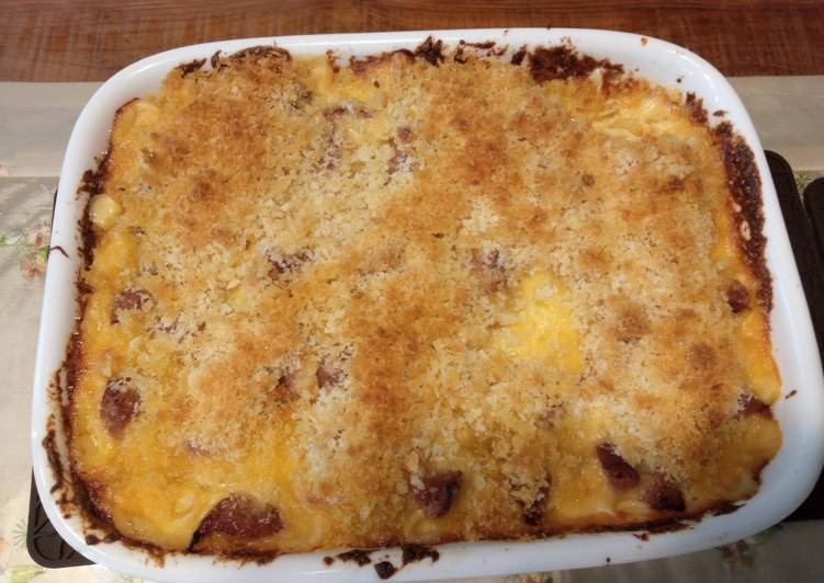 Recipe of Favorite Crusty Baked Mac and cheese