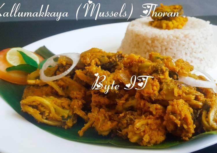 Kallumakkaya (mussels) thoran