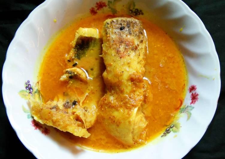 How to Prepare Award-winning Dahi katla fish curry