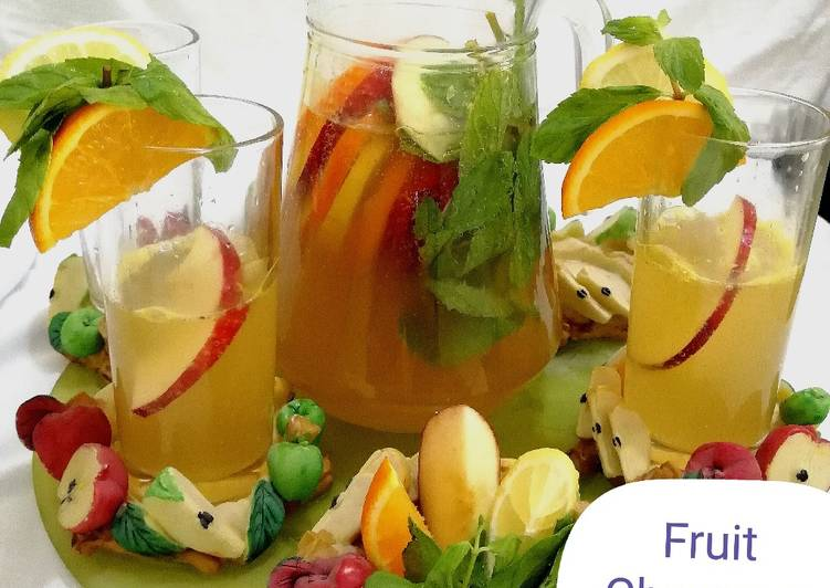 Simple Way to Make Ultimate Fruit champagne
