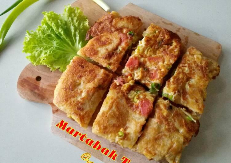 Martabak Telur (Kulit Homemade)