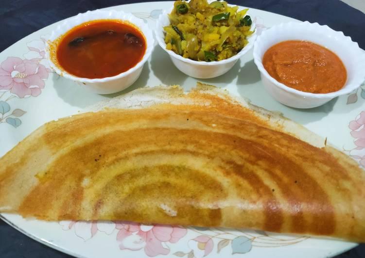 How to Prepare Speedy Mysore Masala dosa