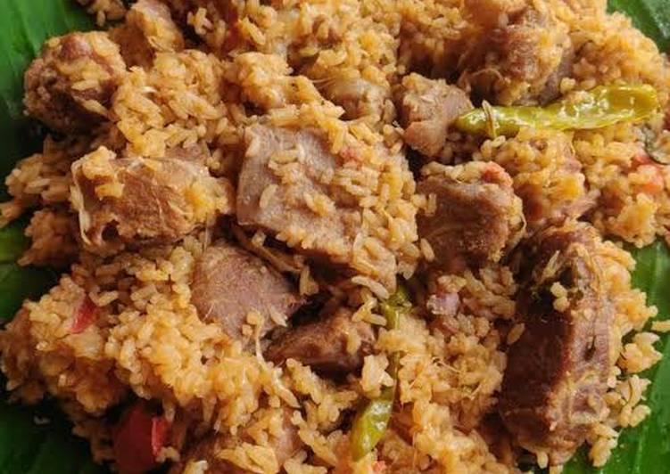 Steps to Prepare Homemade Mutton Biriyani
