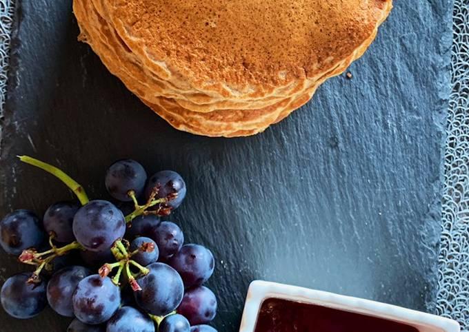 Pancakes a la farine complète