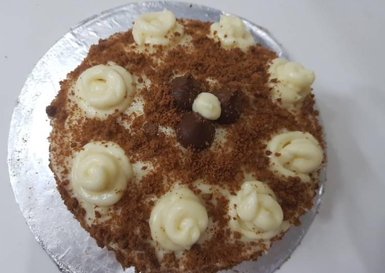 Easiest Way to Prepare Perfect Vanilla cream cake