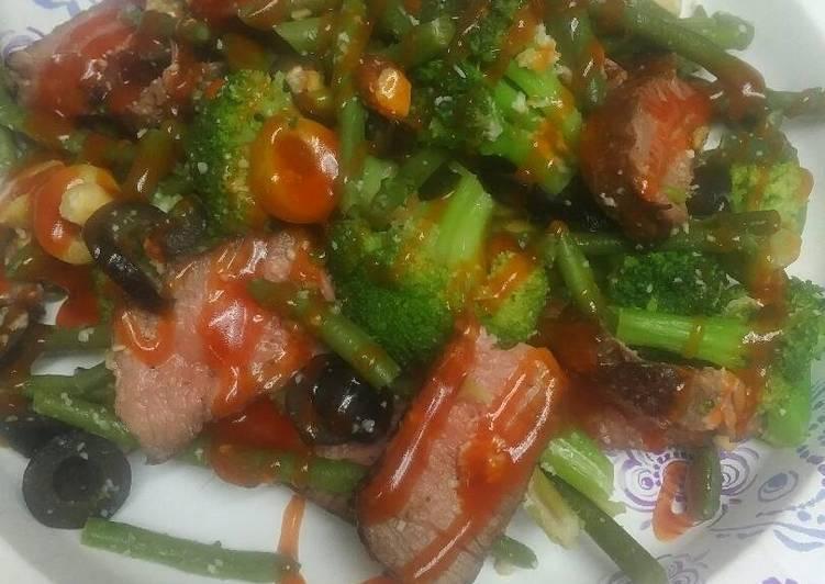 Recipe of Ultimate Leftover London Broil Salad