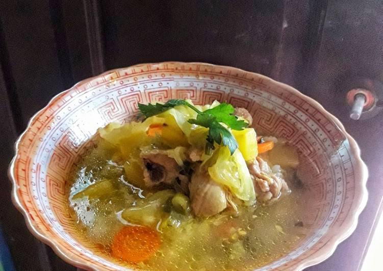 Resep Sup Ayam Kuah Kuning Favorit Keluarga Yang Gampang Enak