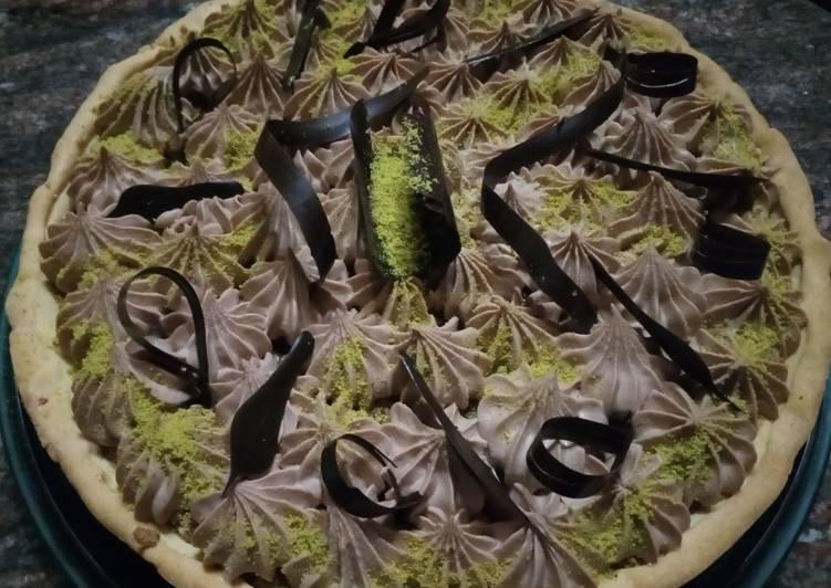 Ricetta Crostata nocciole e cioccolato